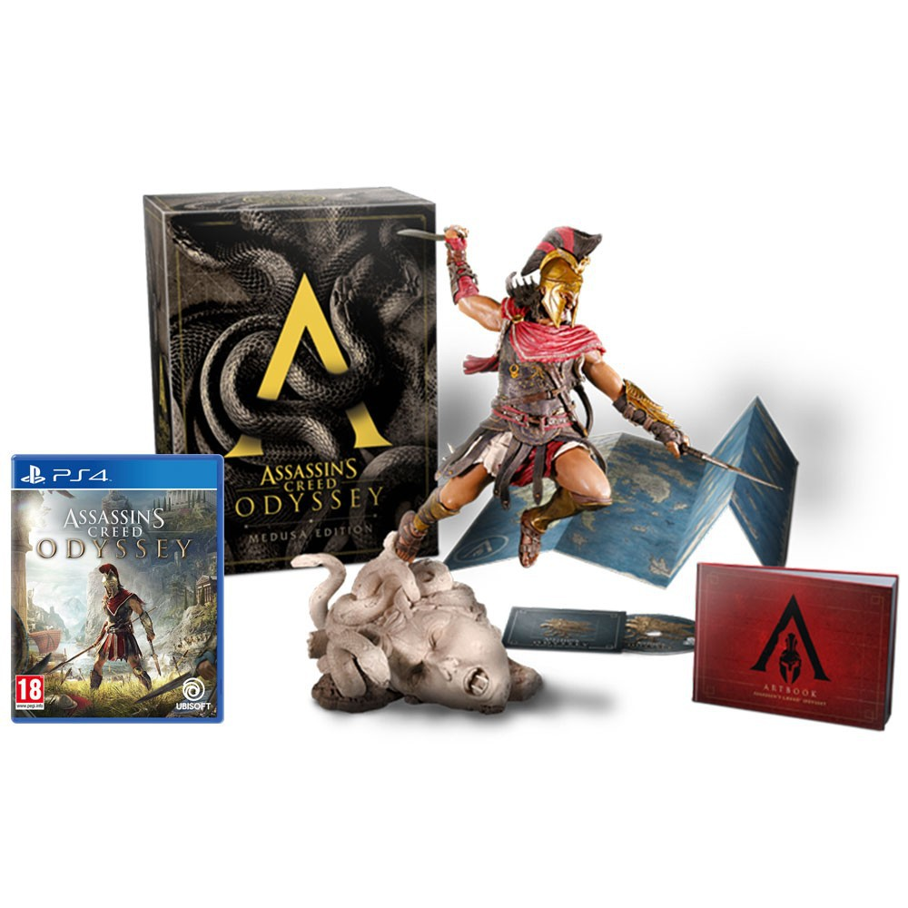 Ps4 Assassin S Creed Odyssey Medusa Edition R3 Eng Chi Shopee