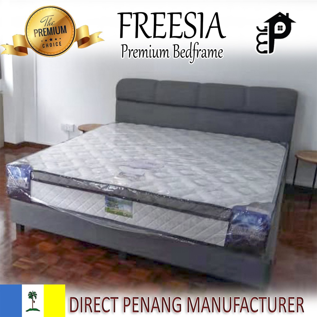 Pre Order Mrp899 Freesia Divan Bed Frame Bedframe Katil King Size Queen Size Super Single Size Single Size Shopee Malaysia