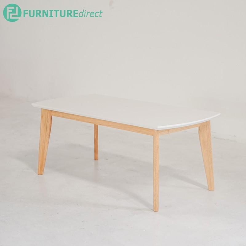Furniture Direct solid wood sofa set with free coffee table/ sofa kayu