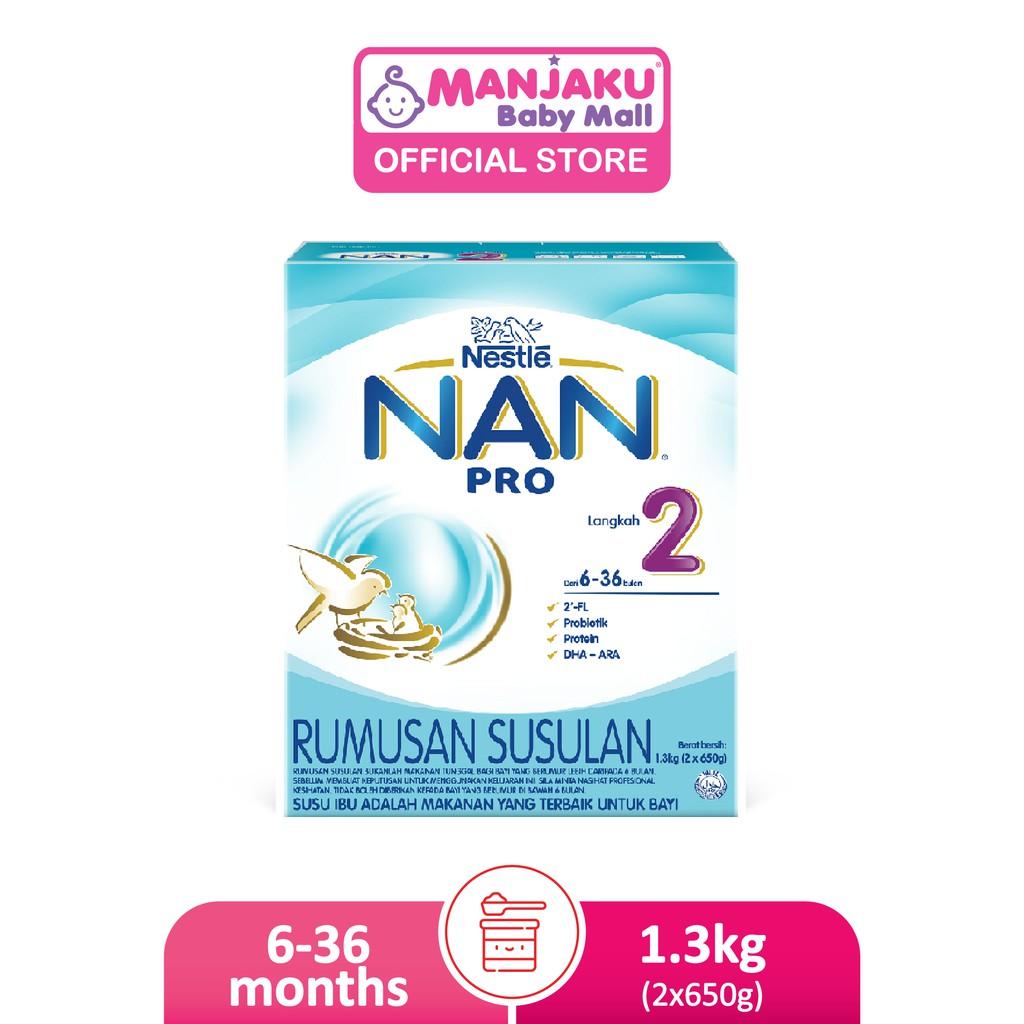 Nestle Nan Pro Step 2 (2 x 650g)