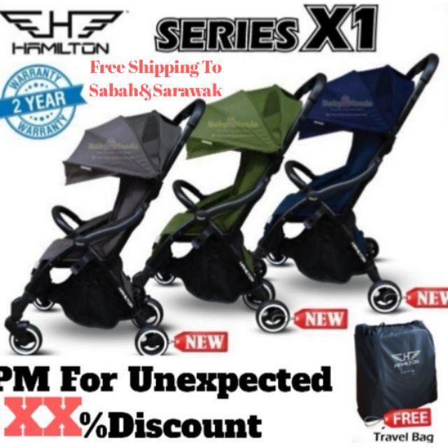 Hamilton Series X1 Magic Fold Baby Stroller   Shopee Malaysia