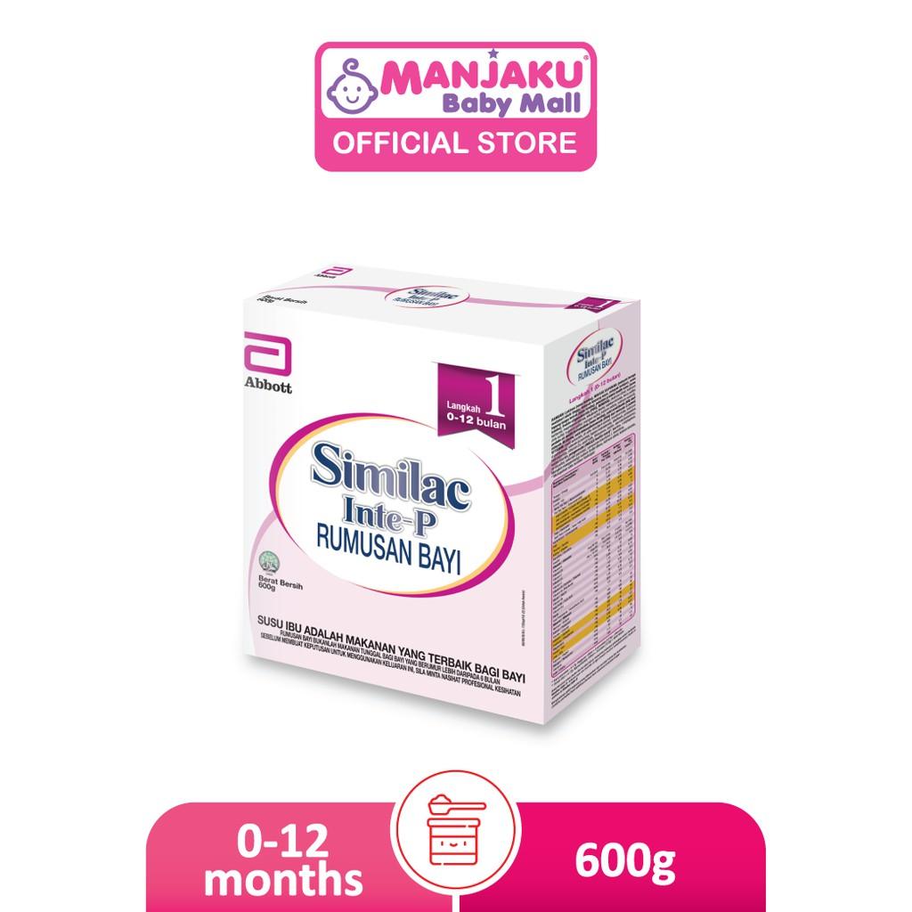 Similac Inte-P Step 1 Infant Milk Formula (600g)