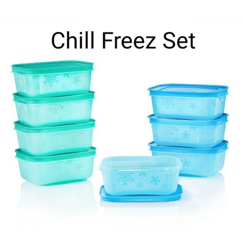 Chill freez tupperware fridge and freezer friendly  untuk peti ais dapur