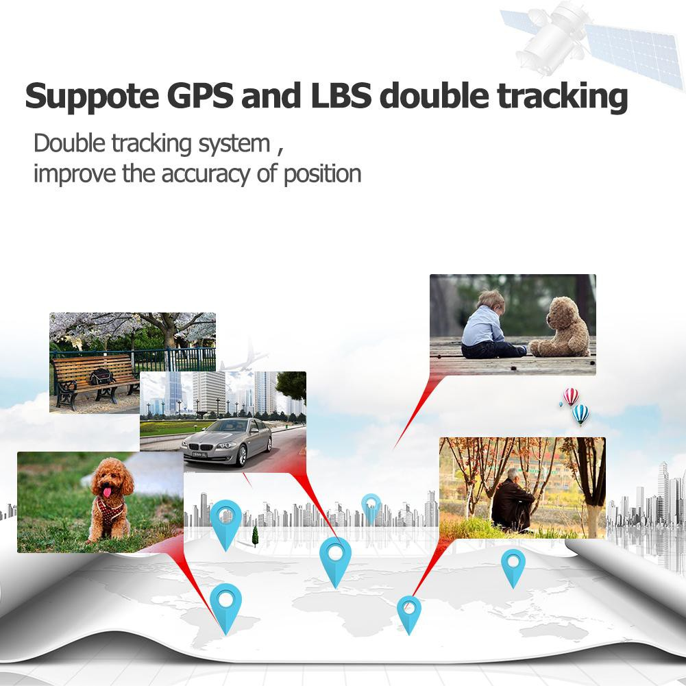 (Ele)GF08 Mini SMS GPS Tracker GSM GPRS Real Time Tracking Device for  Elderly