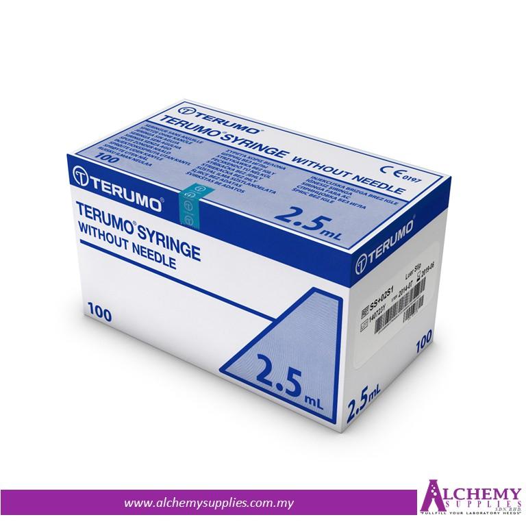 TERUMO Syringe w/o Needle