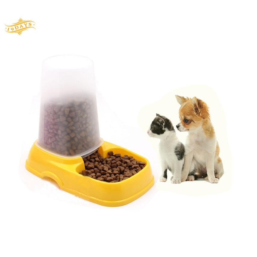 Cat Supplies Painstaking Dog Cat Protable Bowl Of Stainless Steel Food Water Feeders Dishes Supplies Pet Convenience Goods Dishes, Feeders & Fountains