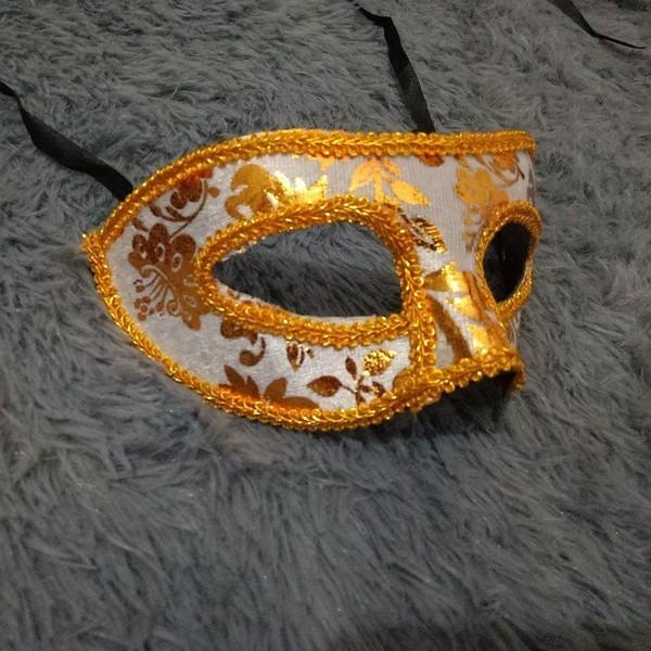 Womens Party Mens Prom Masquerade Velvet Venetian Style Mask