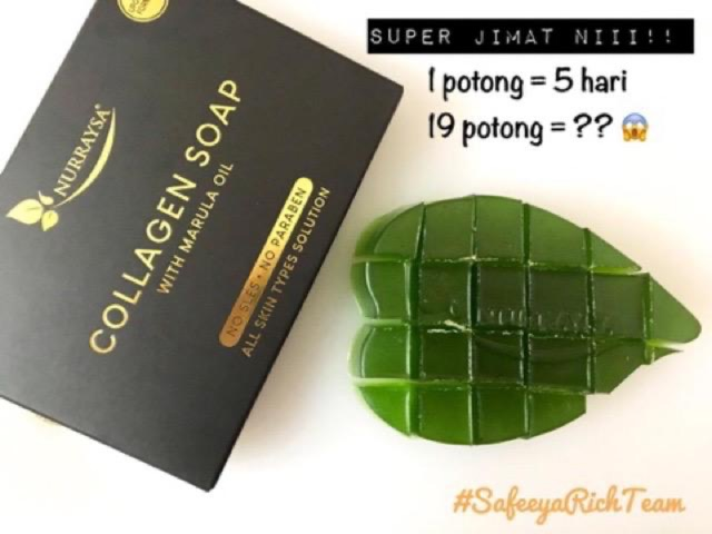 NURRAYSA COLLAGEN SOAP WITH MARUL OIL