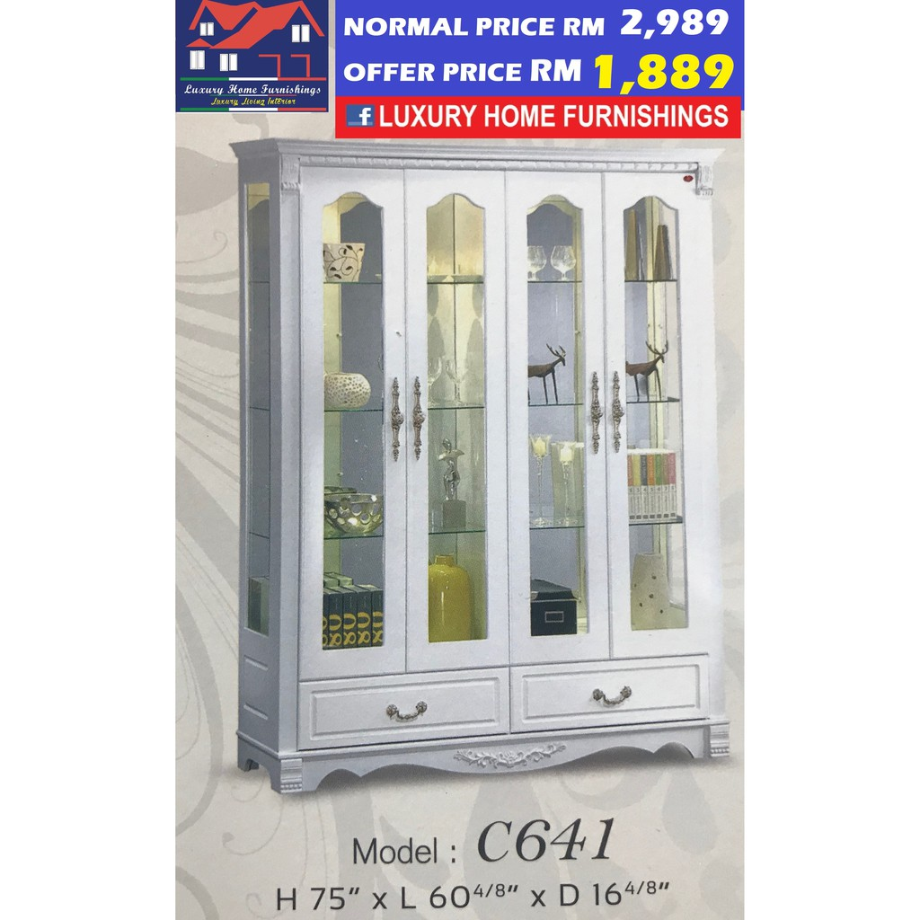 DISPLAY CABINET COLLECTION B