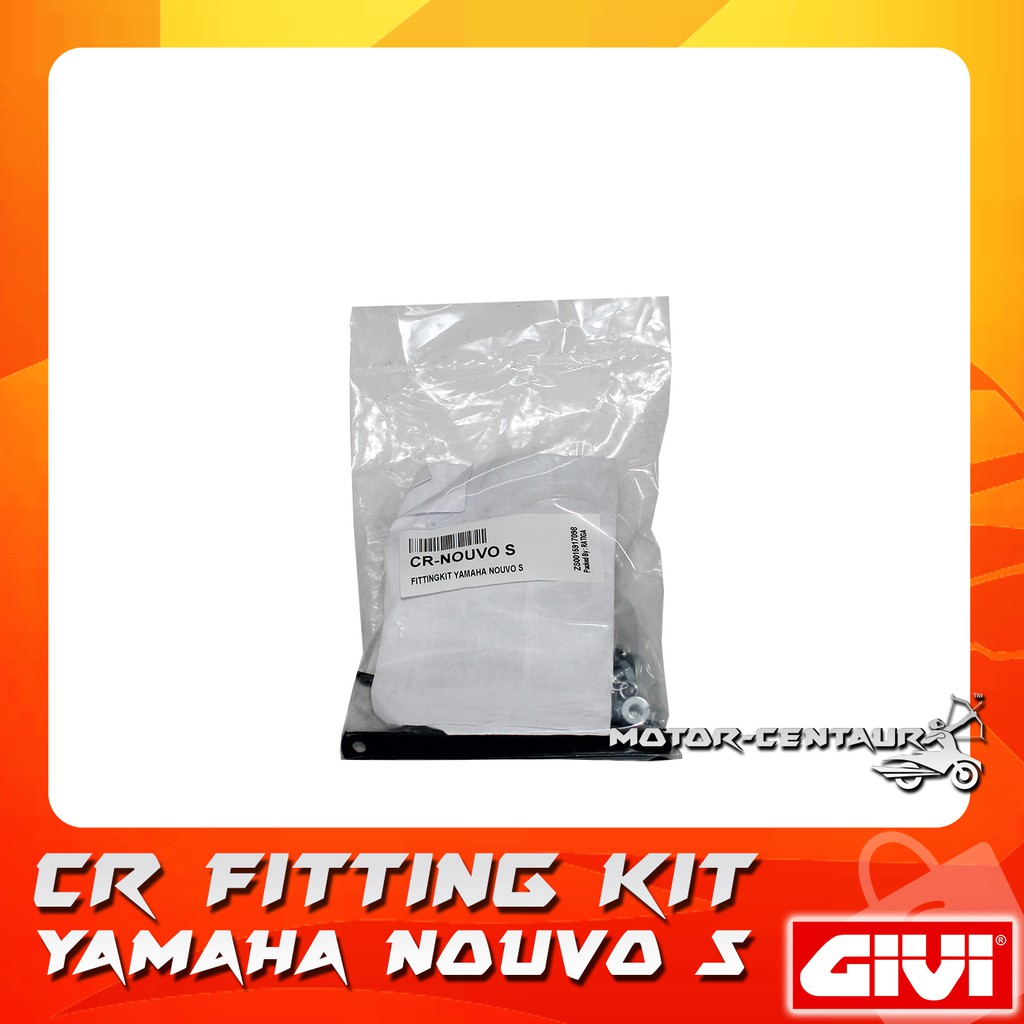 Givi Centre Case Fitting Kit Cr Yamaha Nouvo S Shopee Malaysia Nuvo