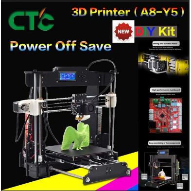 CTC A8 Impresora 3D Printer High Precision Imprimante 3D DIY Kit