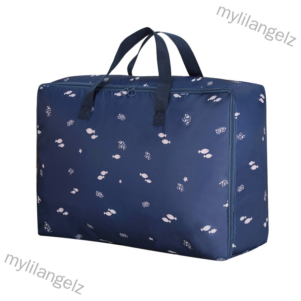 Mylilangelz Multifunction Oxford Cloth Storage Bag with Handles for Cabinet Luggage Clothes Organizer (READY STOCK)