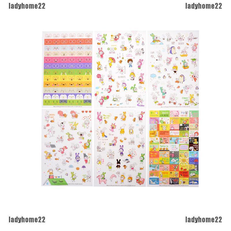 Deco Stickers Ver.2 for Planner Diary Calendar Scrapbooking Cute Decor Label Tab