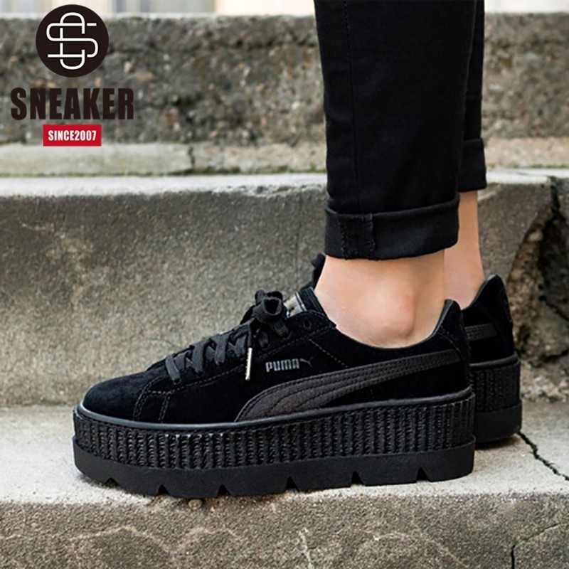 separation shoes 2764f 6115c Authentic Puma x Fenty Creeper women's casual shoes 366268-04