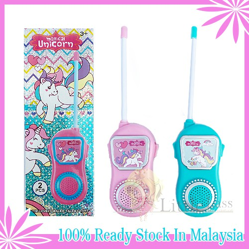 Battery Operated Walkie Talkie Play set for Kids LOL Girl Surprise Toys for kids