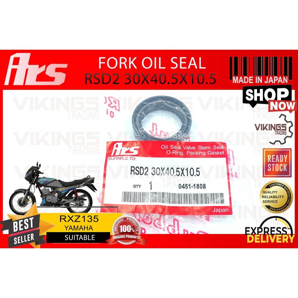 RXZ RXZ135 YAMAHA JAPAN FORK OIL SEAL JAPAN ARS  RSD2 30X40.5X10.5
