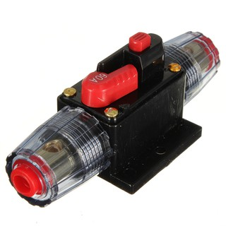 60a car audio inline circuit breaker fuse for 12v protection skcb 02 rh shopee com my