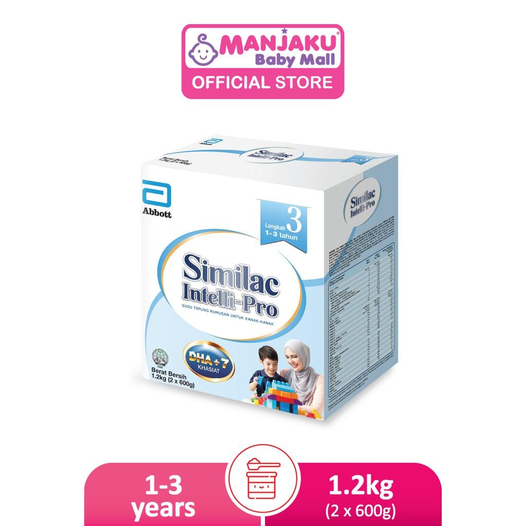 Similac Intelli-Pro Step 3 Growing Up Milk Formula (1.2kg)
