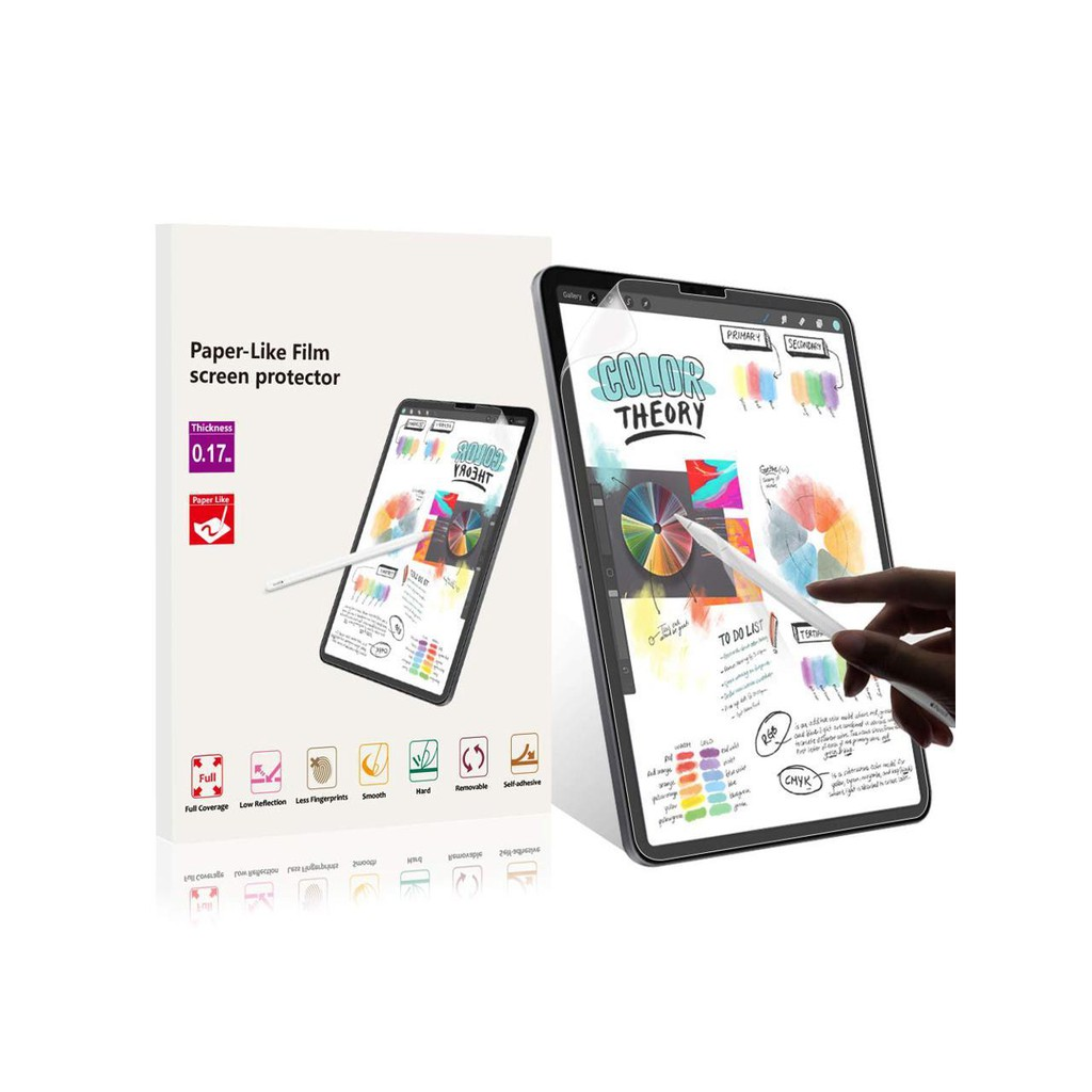 Ipad Pro 12.9 Screen Protector Paper Like Anti Glare Scratch Resistant Paperlike