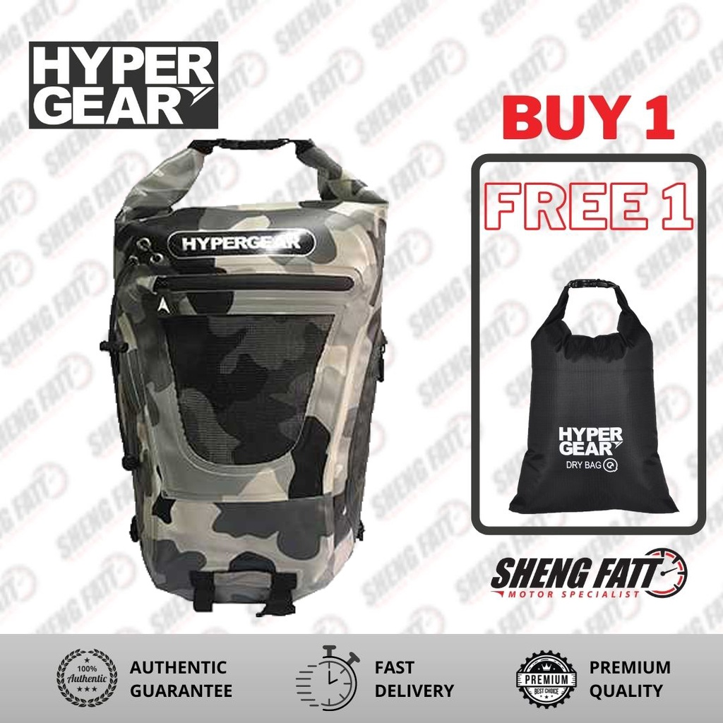 Hypergear Dry Pac Tough (C.Grey Alpha)