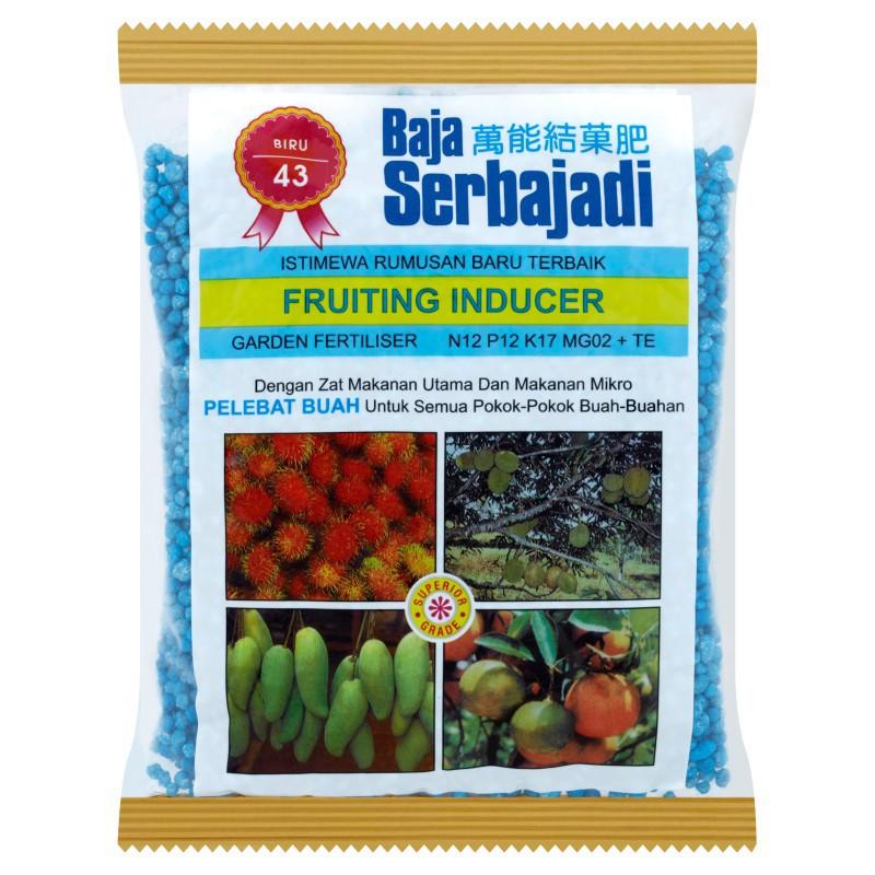 Baja Serbajadi Fruiting Inducer 43 Garden Fertiliser 400g