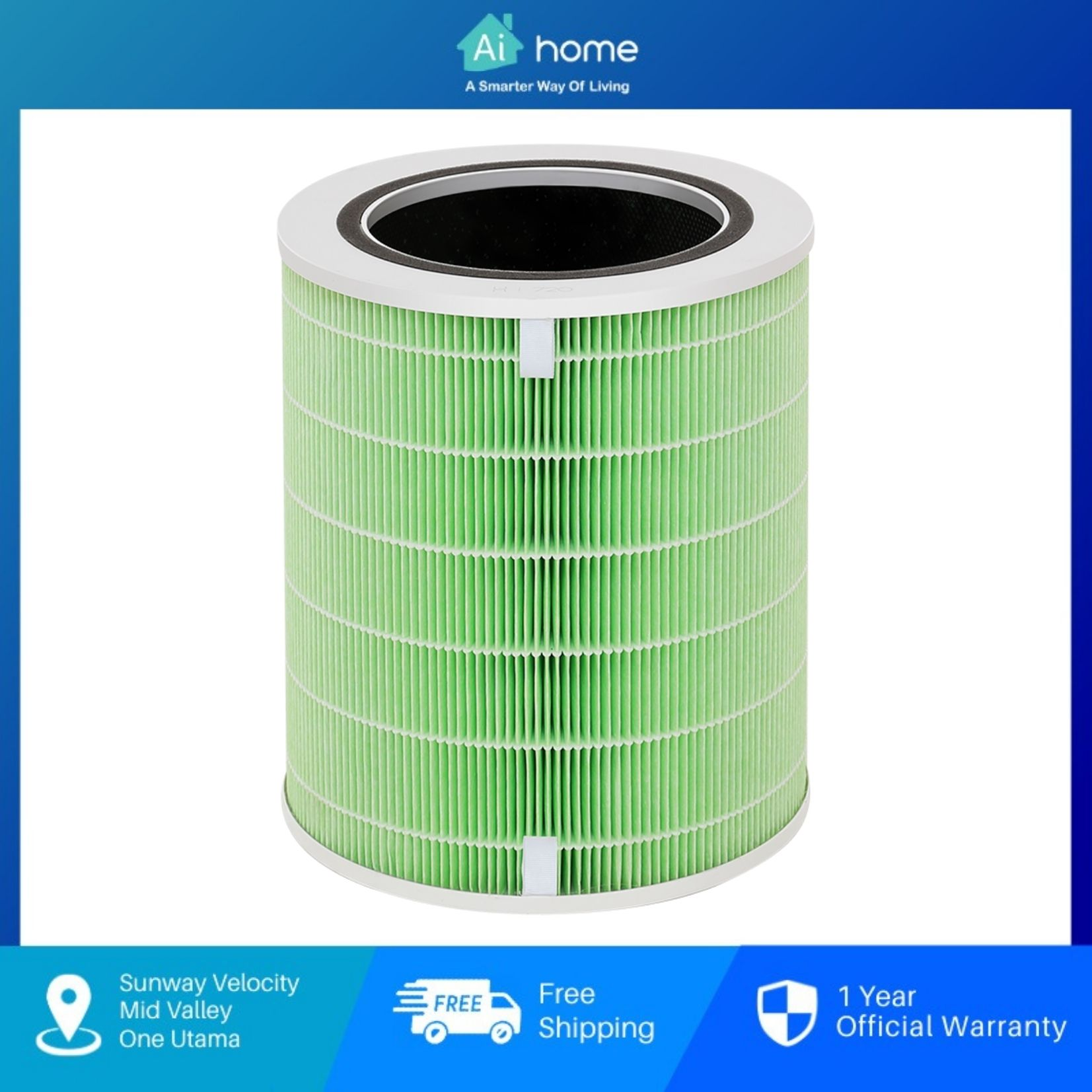 HUAWEI Hilink 720 Full-Effect Air Purifier (EP500H) with 1 Year Malaysia Warranty [ Ai Home ]