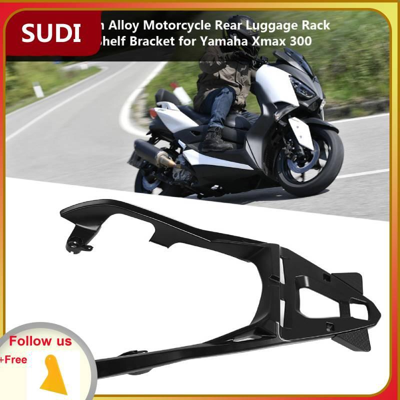CNC Motorcycle Rear Luggage Rack Cargo Holder Shelf Bracket For Yamaha Xmax  300