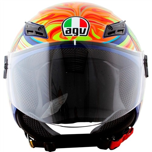 Helmet Agv E2205 Top Dd Blade Five Continents Original Shopee Malaysia
