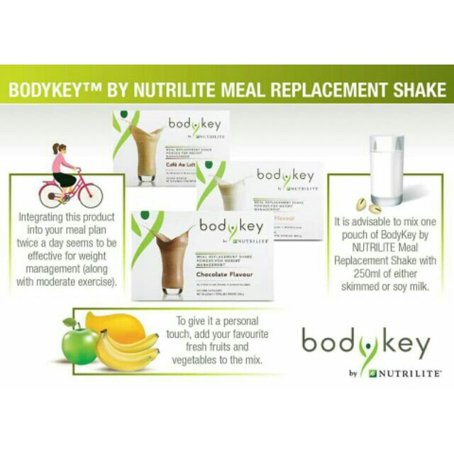 AMWAY Hebat Familli (Protein+BodyKey by NUTRILITE Meal Replacement+Nutrilite Mixed Probiotic)