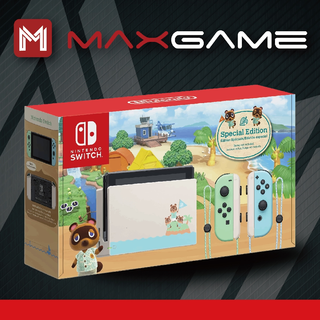 Nintendo Switch Animal Crossing Limited Edition ( 1 Year ...