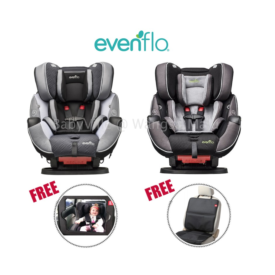 Evenflo Symphony Elite All-in-One Car