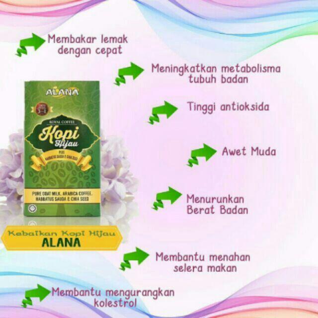 Image result for kopi hijau alana