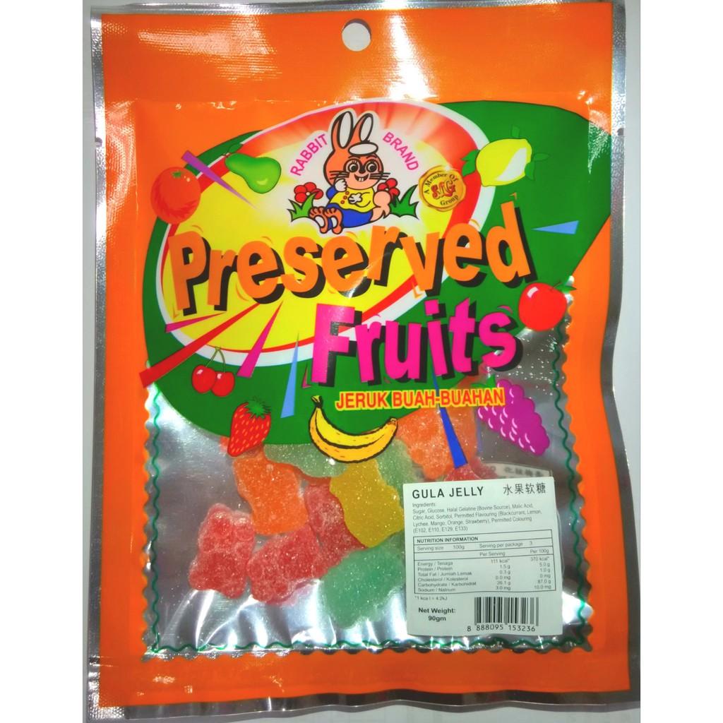 Mr Best Fruit Jelly 90gx6