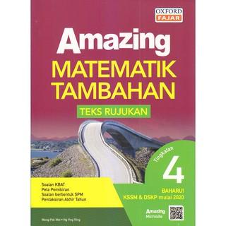 Amazing Matematik Tambahan Teks Rujukan Tingkatan 4 Shopee Malaysia