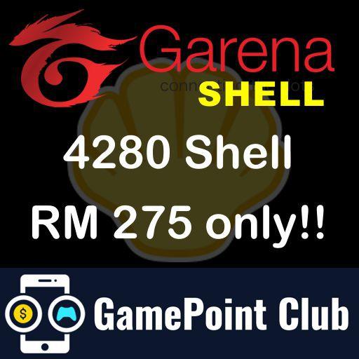 Garena Shell (Direct TopUp) Welcome Reseller- BIG DISCOUNT!!