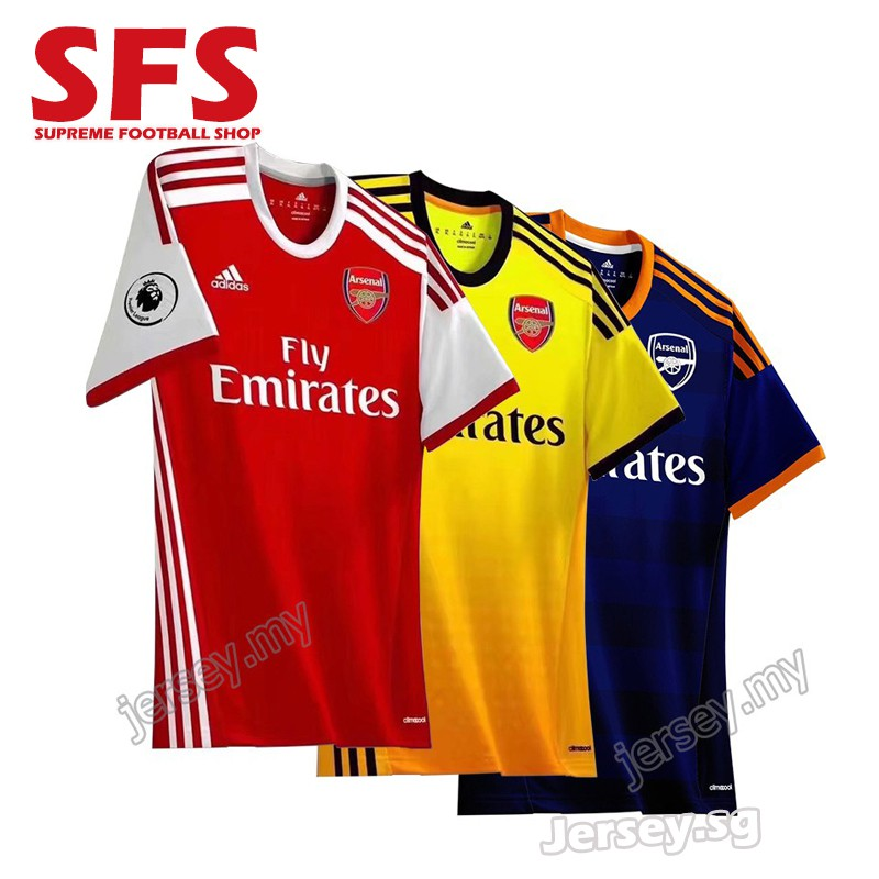 detailed look ee207 e75c7 AD Arsenal Home Jersey JERSI Football JERSEY Men Tshit 19/20