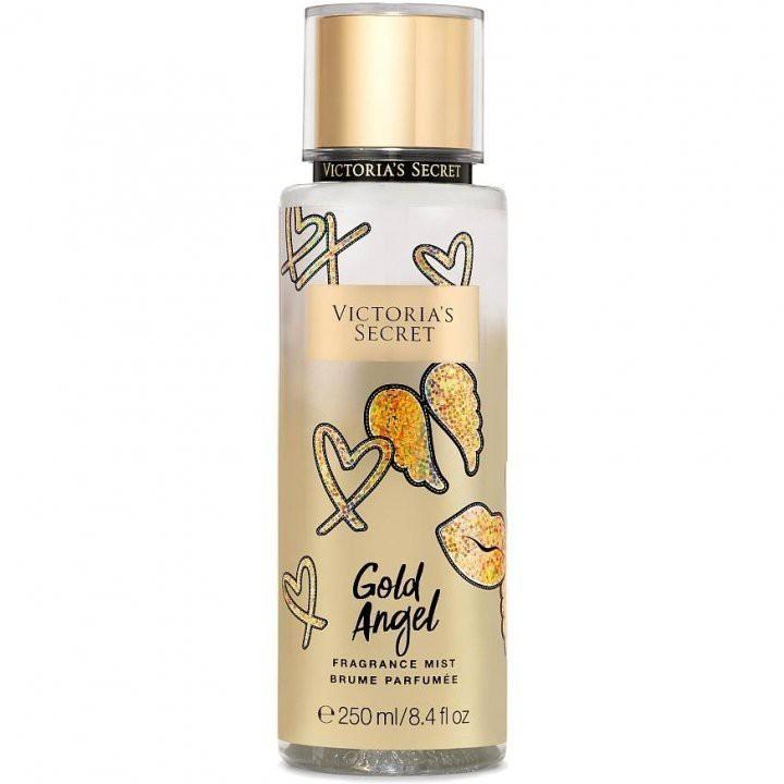 48509991918 Victoria s Secret Showtime Fragrance GOLD ANGEL Body Mist   Lotion 2pc