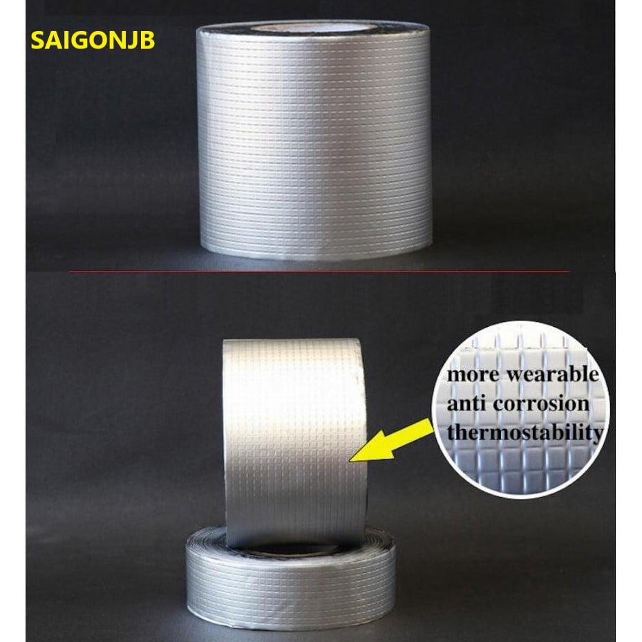 Tape Aluminium Foil Adhesive Tape Crack Repair Anti-Leakage Waterproof