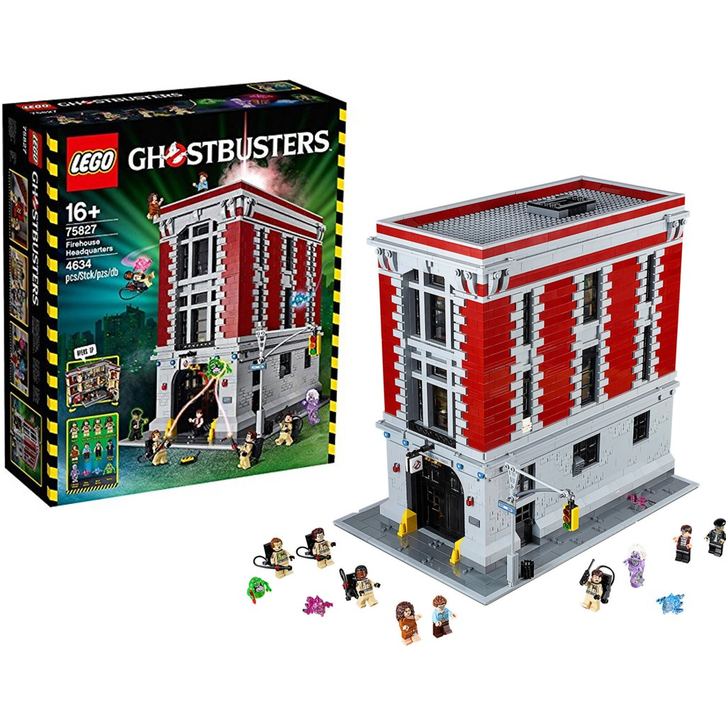 LEGO Ghostbusters Firehouse Headquarters Building Block Kits 75827