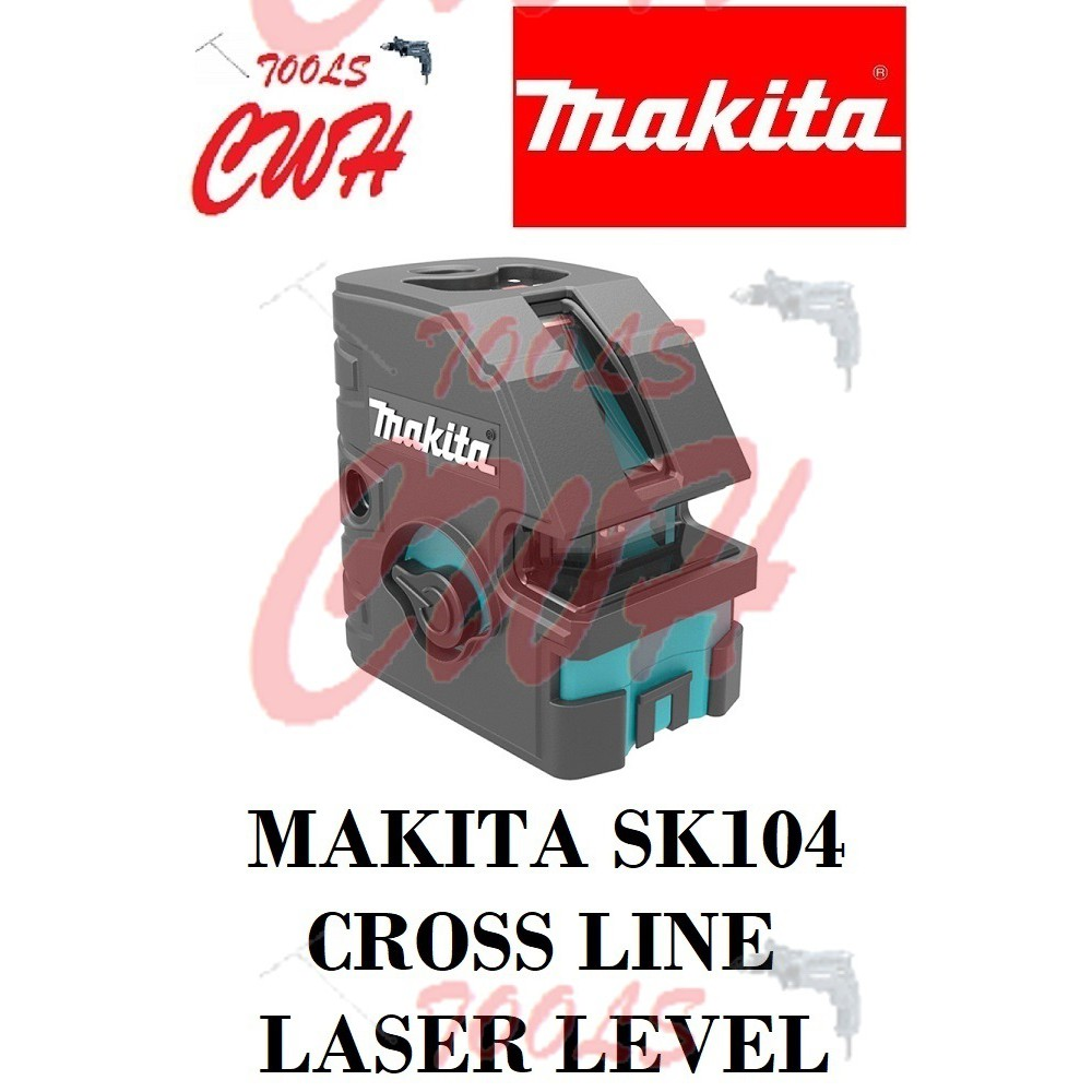 MAKITA SK104 CROSS LINE LASER LEVEL (TOOL ONLY) SK104Z