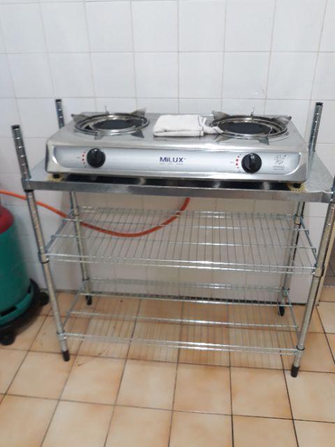 Ikea Omar Kitchen Steel Rack Rak Dapur