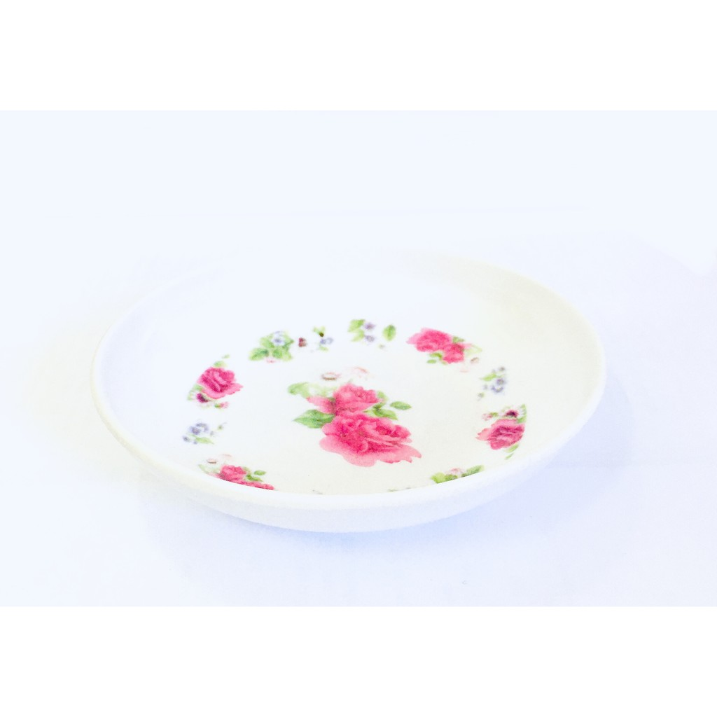 Small Dish Tableware Vinegar Soy Sauce Chili Plate Dish Melamine Design 9cm