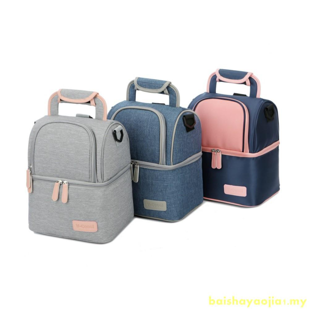 footwear factory authentic good selling Original V-coool / V-cool Double Layer Hot Cold Mummy Baby Bag