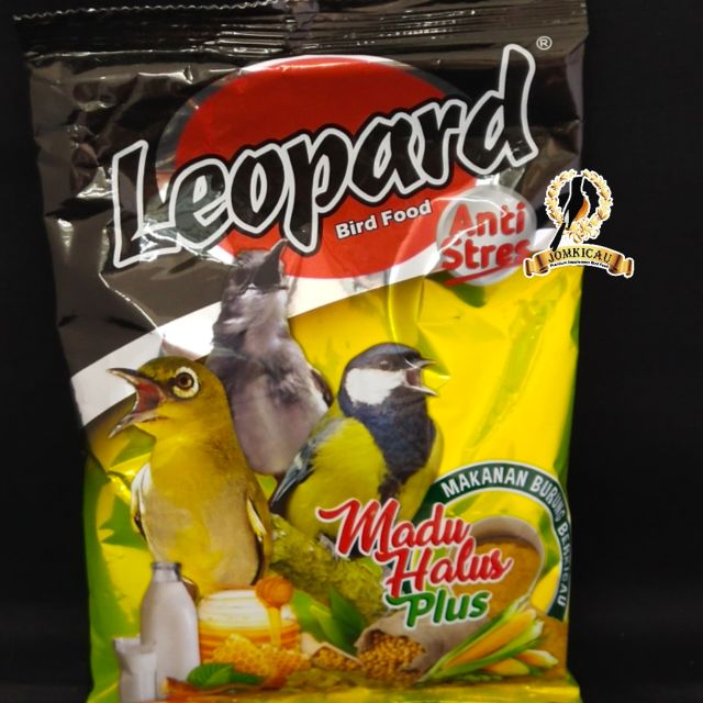 Leopard Halus 200gram Makanan Burung Pleci Mata Putih Suit Ciblek Ready Stock Shopee Malaysia