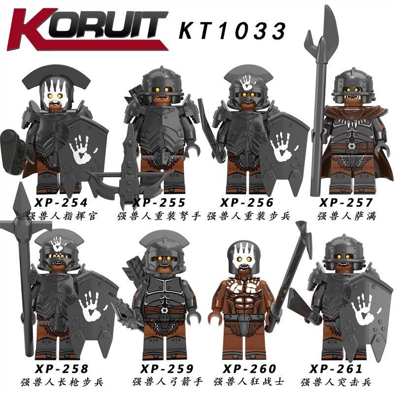 Noldor Elf Guard Lord of The Rings Custom Minifigure Minifig Mini Figure 204