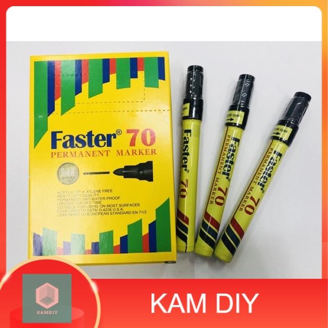 FASTER 70 PERMANENT MARKER 1pcs black color