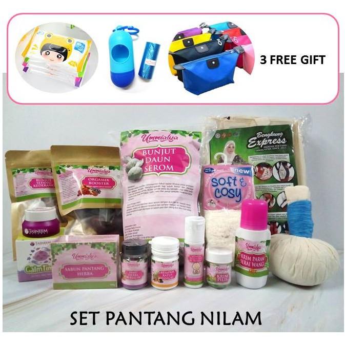 Set Pantang Nilam by UmmiAlya l Set Pantang Lengkap l Ibu Bersalin l Mummy Postnatal Care and Supplements + Free Gifts