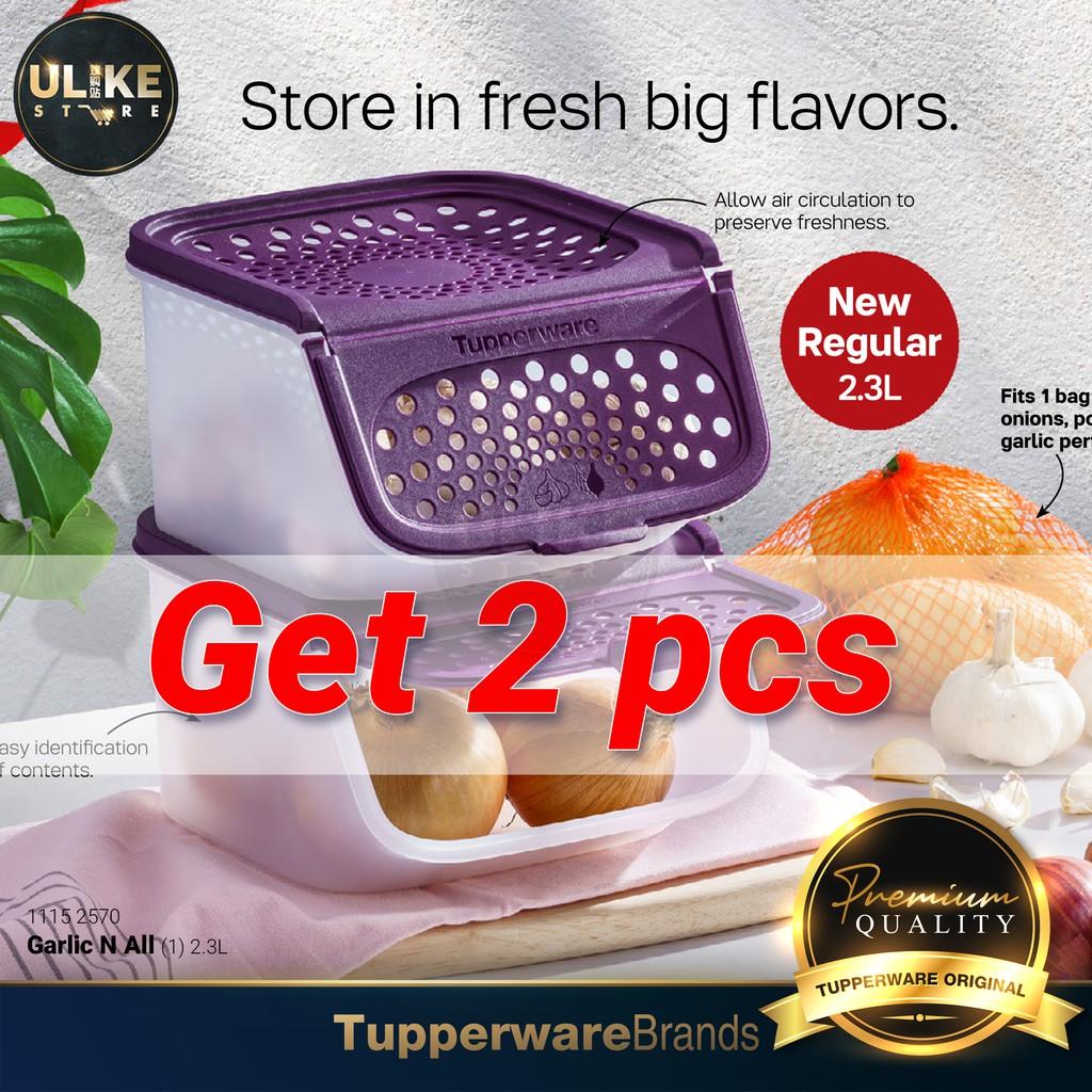 READY STOCK !! Tupperware Garlic N All / Garlic Keeper / Tupperware (2 units)