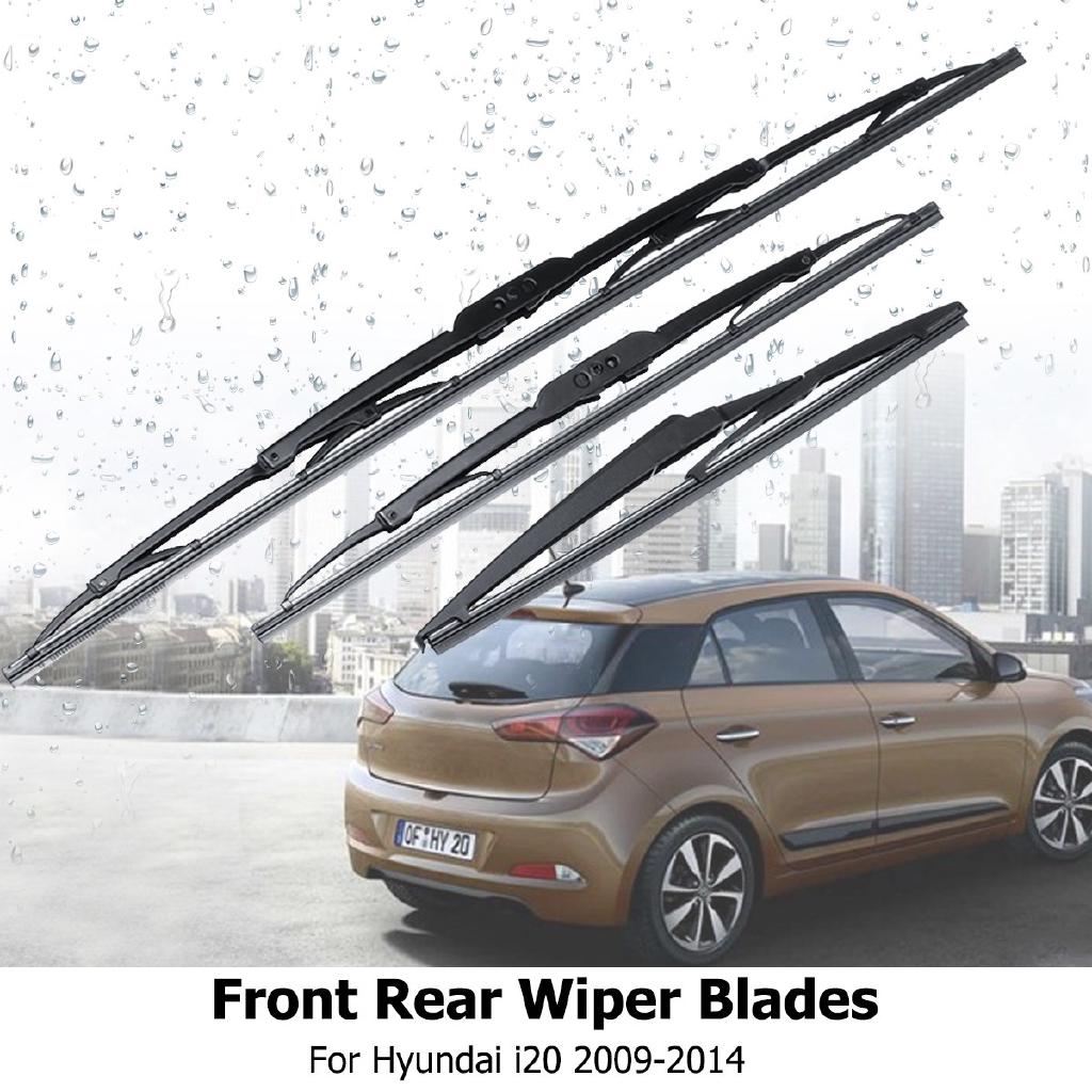 Hyundai I20 2008 On Window Wipers 24 16 12 Full Set