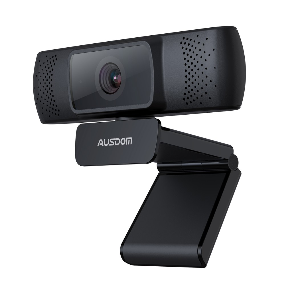 AUSDOM AF640 1080P Webcam Auto Focus with Noise Cancelling Microphone
